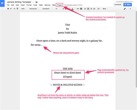 how i use google docs for writing jamie todd rubin gt gt 22