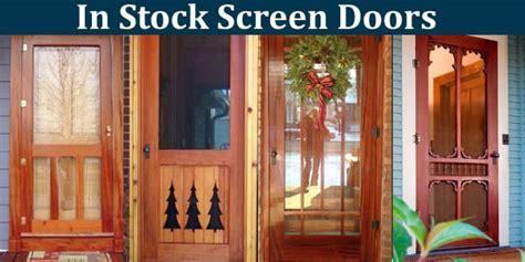 24 Wood Screen Door by Wood Doors In Stock At Vintage Doors Yesteryear S