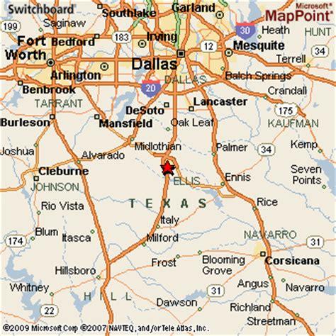 waxahachie texas map waxahachie texas