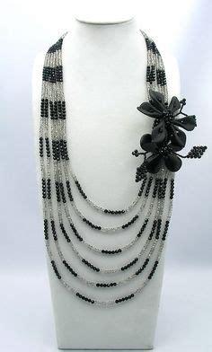 Kalung Choker Black Tassel Kn44146 friendship jewelry and bracelets on