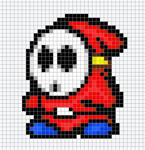 pixel bead patterns mario chart pixel perler bead