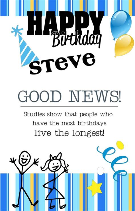 Cold Steve Birthday Card 17 Best Images About Birthday Cards On Pinterest Design