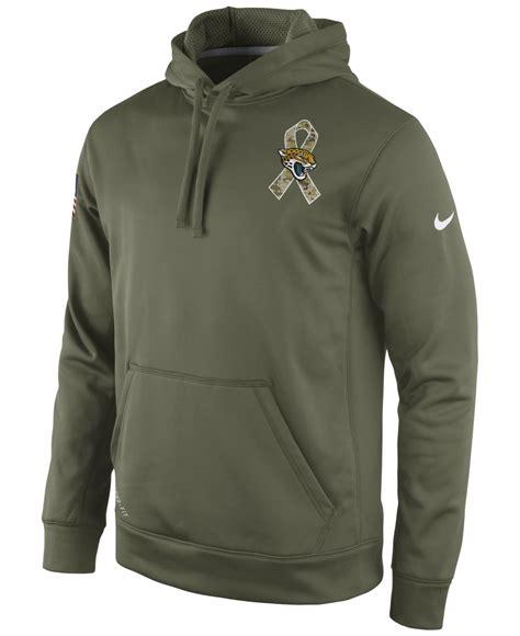 Jaket Hoodie Nike 7 lyst nike s jacksonville jaguars salute to service ko hoodie in green for