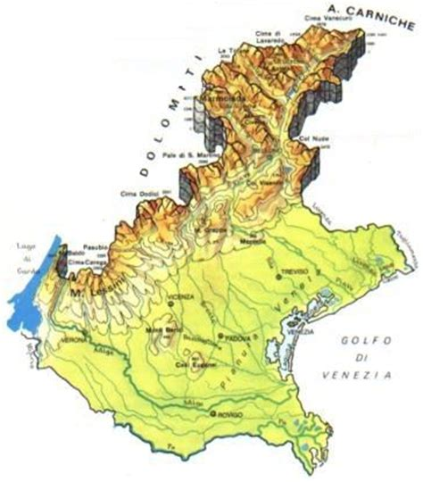 geografia veneto veneto scheda regione globalgeografia