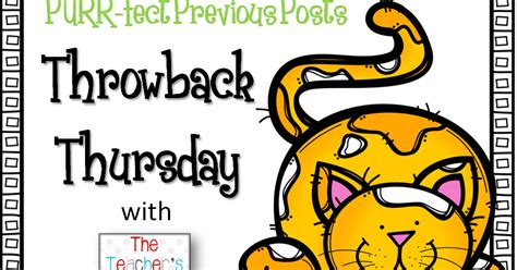 throw back thursday s day thowback thursday character inferences freebie and a bloggy buddy s blogiversary giveaway