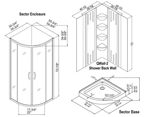 Standard Shower Pan Sizes Standard Bathroom Sizes Shower Standard Shower Door Size