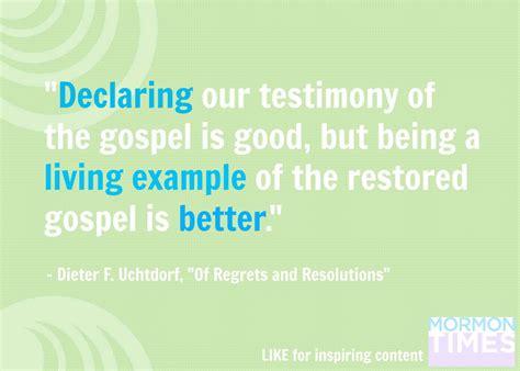 declaring  testimony   gospel  good diary   mormon girl