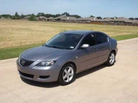2006 mazda 3s 2006 mazda 3 i touring 4 door sedan size car deal