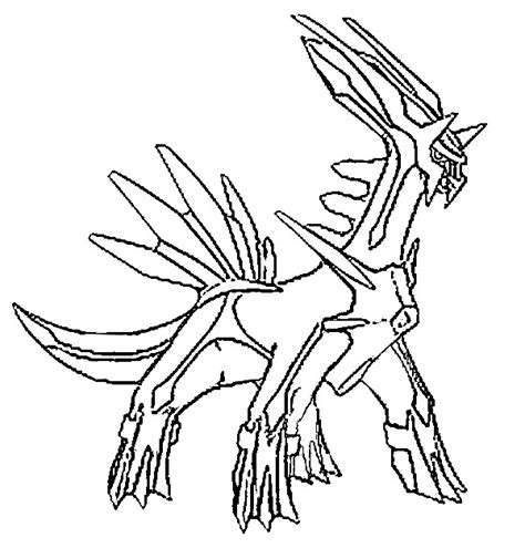 Dialga Coloring Pages dialga images images
