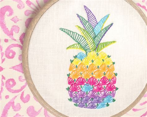 Handmade Embroidery - the colors embroidery embroidery pattern by