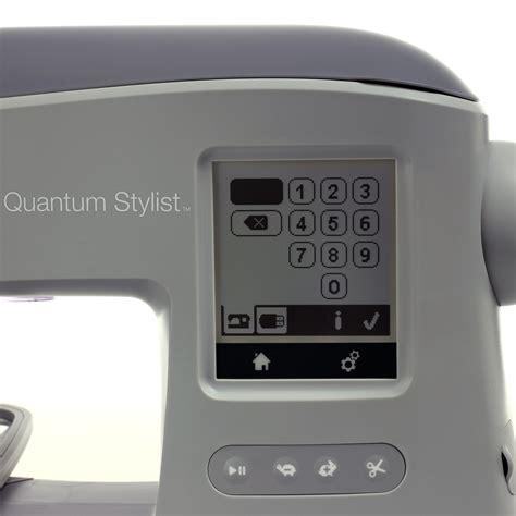 Singer Em 200 Quantum Stylist by Singer Quantum Stylist Em 200 Stickmaschine G 252 Nstig