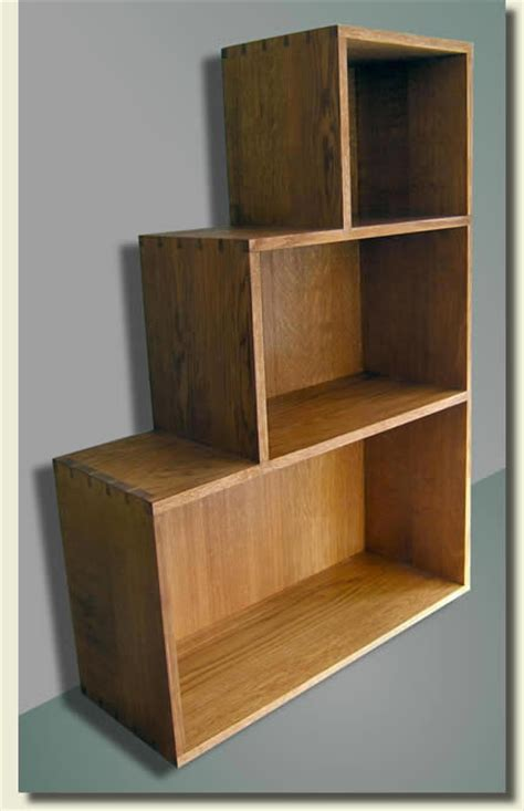 handmade furniture gallery stepped oak bookcase