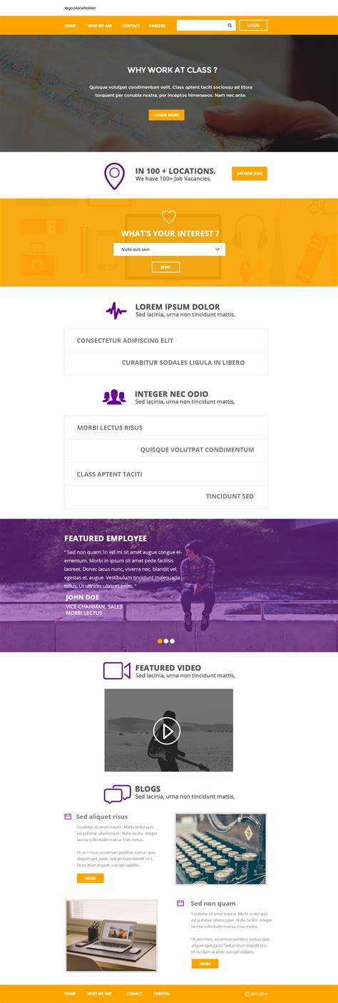 flat psd template flat clean corporate layout psd template at