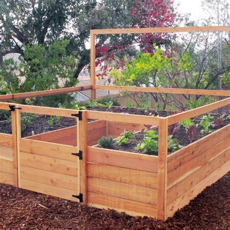 Gardens To Gro 8 X 8 Ft Vegetable Garden Kit Raised Bed Vegetable Garden Box Kits