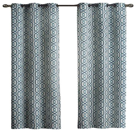 100 polyester curtains alexander 100 polyester blackout grommet curtain