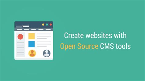 best content management system open source open source cms 12 great website creation tools