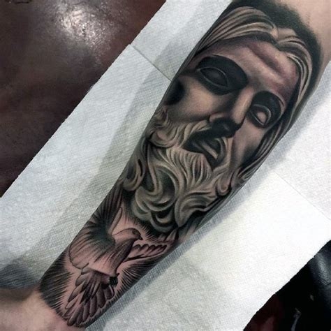 tattoo jesus forearm 50 jesus forearm tattoo designs for men christ ink ideas
