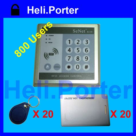 Tag Koperluggage Bag Card Heli 1 Rfid Door Access Panel Keypad A1 With 20 Cards