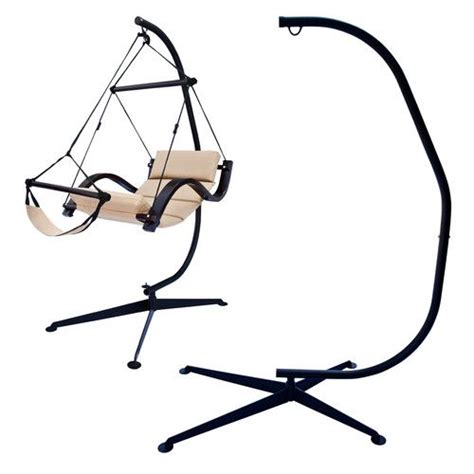 stand for swing chair hammock c frame stand solid steel construction hammock air
