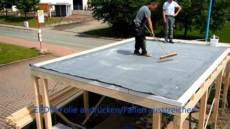 Dach Abdecken Und Neu Eindecken by Dachprotect 174 Es Epdm I Dach Erstellen