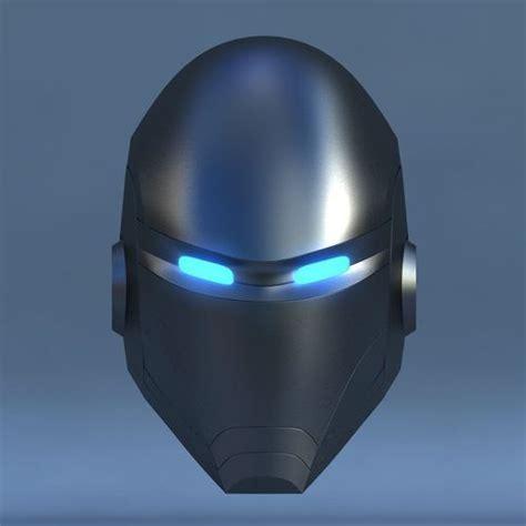 Robot Head E 3D Model .max   CGTrader.com