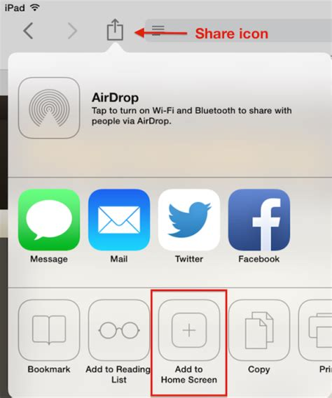 how to set up web for websites in safari on or