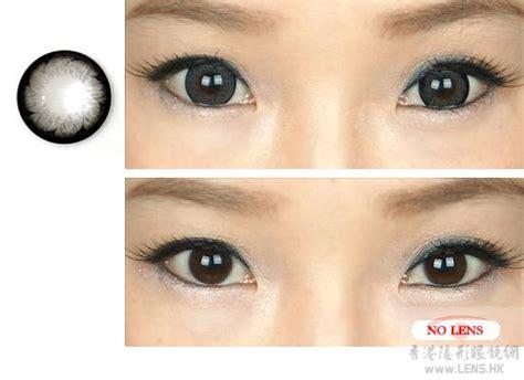 grey color contacts girly chip grey color contact lens pair y33 grey 24