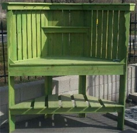 corner potting bench 59 best images about primitive outdoor furniture to make