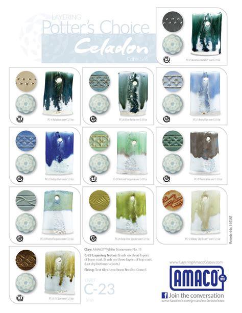 amaco glazes c celadon high glazes glazes underglazes