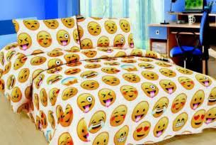 emoji bedding set bargain from 163 12 via wowcher event next