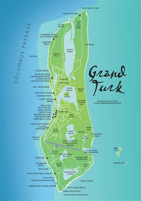 map of grand island detailed map grand cruise dec 2013