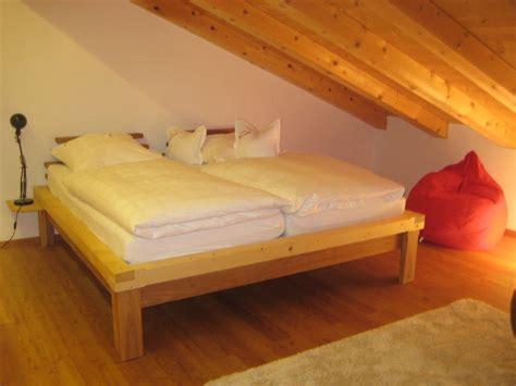 kleines doppelbett ferienwohnung eberhardt tegernseer tal kreuth frau