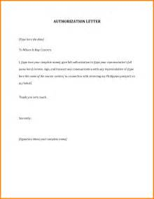Authorization Letter Sample Format For Claiming Documents 10 authorization letter sample for claiming ledger paper