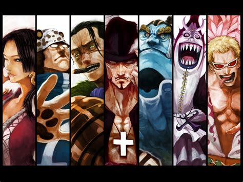 7 Anime One by Images Digital One Shichibukai Wallpaper Gallery