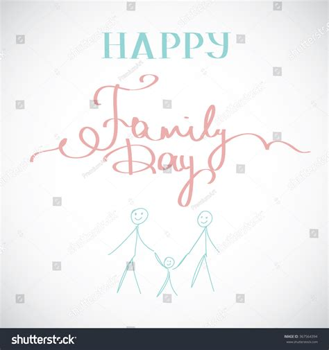 happy family cards templates happy family day greeting card template stock photo
