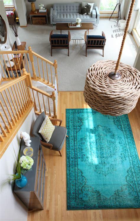 Aqua Kitchen Rug I Chose A Rug Decorate House Of Hipsters