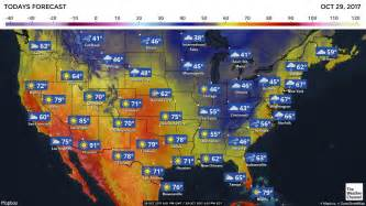 national forecast and current conditions the weather channel