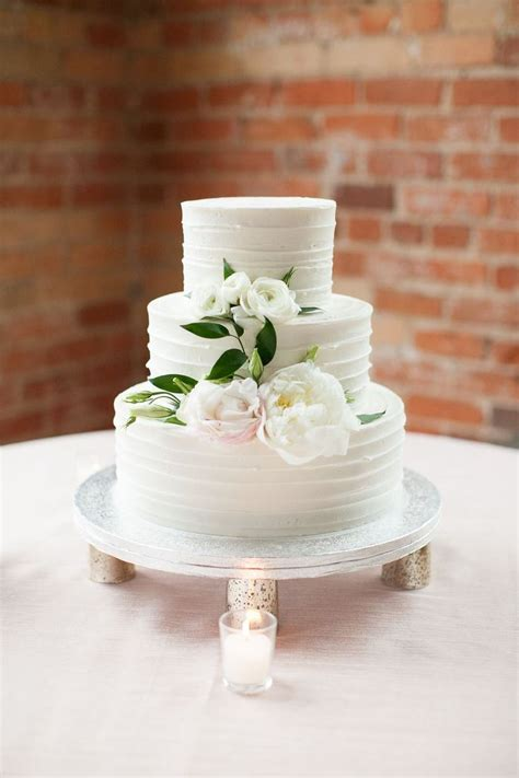 3 Wedding Cakes by 3 Tier Wedding Cake With Best Day Silver Cake Topper