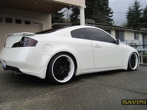 nissan infiniti 2 door white infiniti g37 coupe black rims google search car