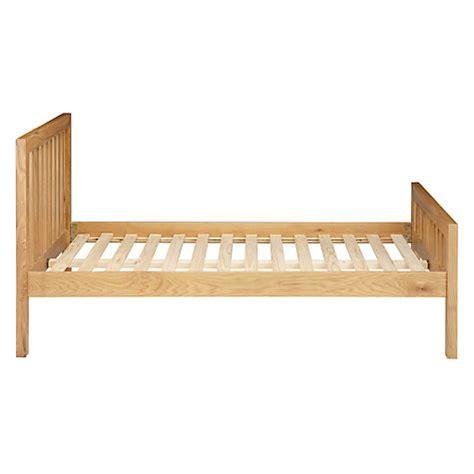 Buy John Lewis Cooper Bed Frame King Size Oak John Lewis Buy King Size Bed Frame