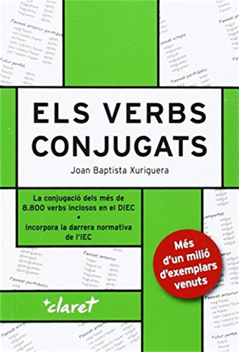els verbs catalans conjugats 9788482978932 slugbooks