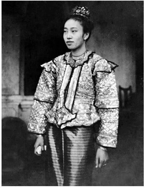 Kebaya Marwah 68 best myanmar ancient dress images on burmese national archives and vintage