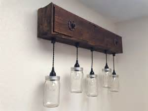 rustic bathroom lights rustic vanity light