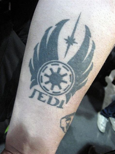 jedi symbol tattoo the gallery for gt jedi symbol