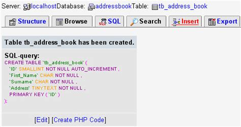 mysql date format add time php tutorials adding records to a phpmyadmin table