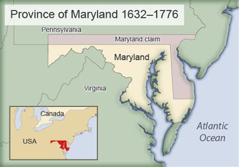 maryland map colony american history part 1 settling the americas pre