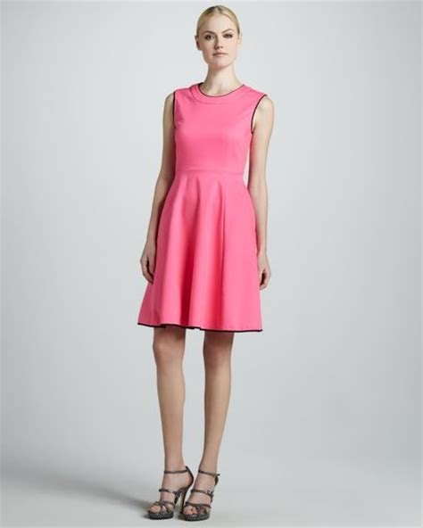 Dress Pink Carol kate spade carol sleeveless flare dress in pink bazooka
