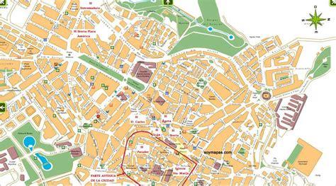 callejero coria caceres mapa callejero de c 225 ceres