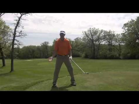 golf swing leg action proper foot position in golf swing youtube