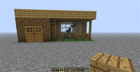 easy to build homes simple house blueprint minecraft project